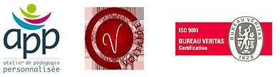 logos app volataire veritas